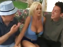 Stepmom, Aged, Big Tits, Blonde, Boobs, Cougar