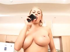 Asshole, Asshole, Big Tits, Blonde, Toys, Gaping