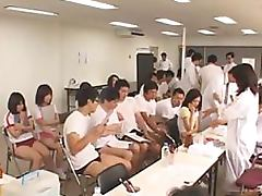 Horny Male Nurses Abuse and Fuck Tons Of Tight Japanese Schoolgirls