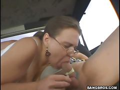 Bus, Amateur, Big Tits, Blowjob, Boobs, Bus