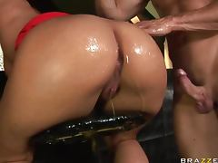 Ass To Mouth, Ass To Mouth, Big Cock, Lick, Oil, Panties