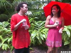 Fun Chat With A Very Sexy Teen In A Rainy