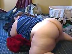 Thick BBW Gets Her Gigantic Ass Fucked By Sex Toys and a Big Black Cock