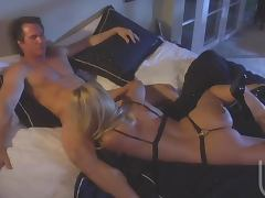 Blonde Babes Gives Her Husband An Amazing Blowjob