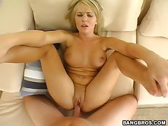 Shaved Pussy, Babe, Blonde, Couple, Natural, Pornstar