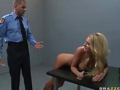 Cop investigates