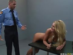 Police, Anal, Big Tits, Blonde, Facial, Hardcore