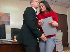 Boss, Ass, Audition, Big Tits, Boss, Brunette