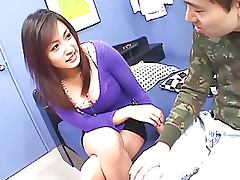 Busty Asian Cutie Gets Fucked and Creampied Twice Uncensored