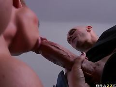 Johnny Sins Is Left Breathless After A Foursome With Three Hotties