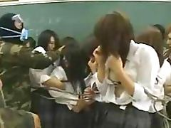 Terrorists Fuck A Class Full of Gorgeous Asian Schoolgirls