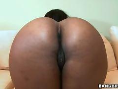 Hardcore Pussy Trashing With A Busty Ebony Babe