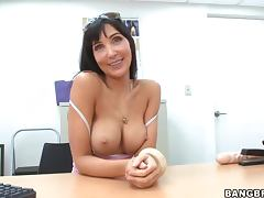 Sexy MILF with Perfect Tits Sucking and Fucking in POV