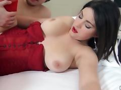 Hungarian Babe gets a filled up Pussy