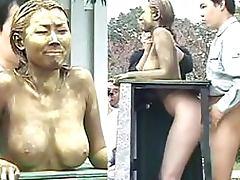 Fucking a Human Statue