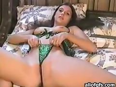 Sexy Brunette With hot Lingerie Is Fucked In Homemade