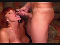 Big Titted Twyla gets cumshot over her face
