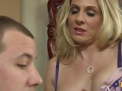 Insatiable MILF Angela Attison Has Plans for the Big Dick