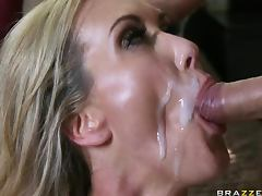 Busty Blonde MILF Brandi Love Gets Banged Hard In a POV Porn porn video