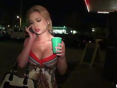 Drinking, Ass, Babe, Blowjob, Car, Deepthroat