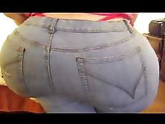 Plumper BBW Brunette Loves Shaking Her Humongous Pear Shaped