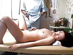 Busty Japanese Babe Gets a Sexy Massage and a Hot Fuck