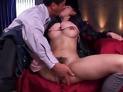 Sexy Yuzuka Kinoshita gets a nasty cumshot