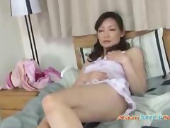Mommy, Asian, Bed, Bedroom, Cougar, Cunt