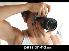 PassionHD Natural busty fashion model sex