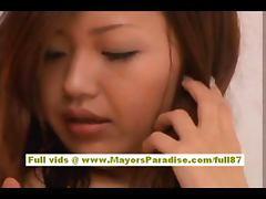 Maria Ozawa brunette Chinese blowjobs and fucking