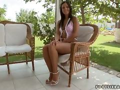 Angelica Heart enjoys unforgettable sex on the poolside