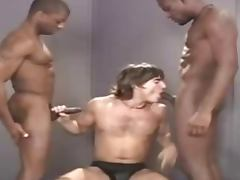 cumslut Jeff Palmer gets raw gangbanged