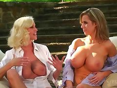 Keylee Parker and Paige Lowry are showing their tits
