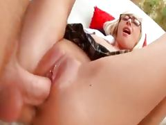 All, Big Cock, Couple, Cumshot, Glasses, Lick
