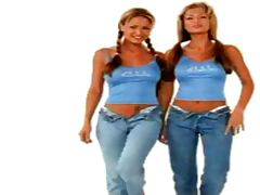 The Bernaola Twins Playmate of the Month January 2000