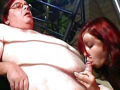 Old and Young, Couple, Cumshot, Penis, Old and Young