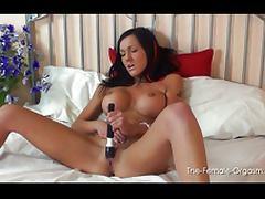 Naughty Chantelle Fox orgasm