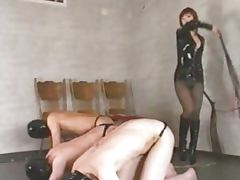 Asian FemDom Worshipped and Served by