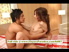 Tina Yuzuki Asian model gets her wet pussy licked