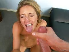 Sheena Shaw the naughty blonde gets fucked in great POV video