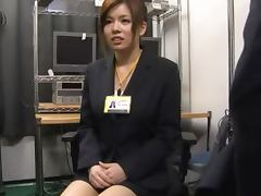 Asian Office Slut Has Some Big Ass Tits