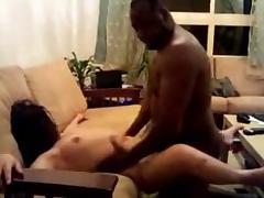 Asian girl's first black cock