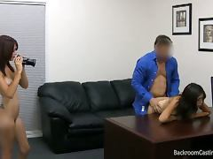 All, Amateur, Audition, Babe, Brunette, Casting