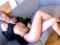 Shave, Babe, Blonde, Heels, Masturbation, Pussy