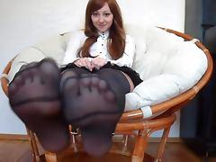 Nice Woman Nice Nylonfeet 23