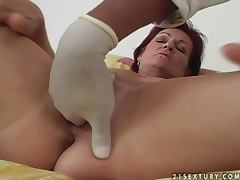 Mature Redhead Fucked By Black Dude