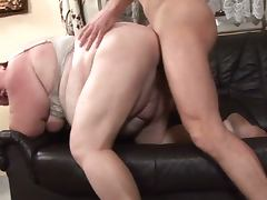 Obese mature nailed hard