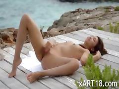 Chinese, Babe, Chinese, Masturbation, Outdoor, Tease
