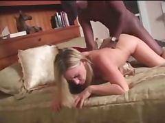 Blonde nympo loves bbc cum Camaster