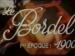 Le bordel french vintage